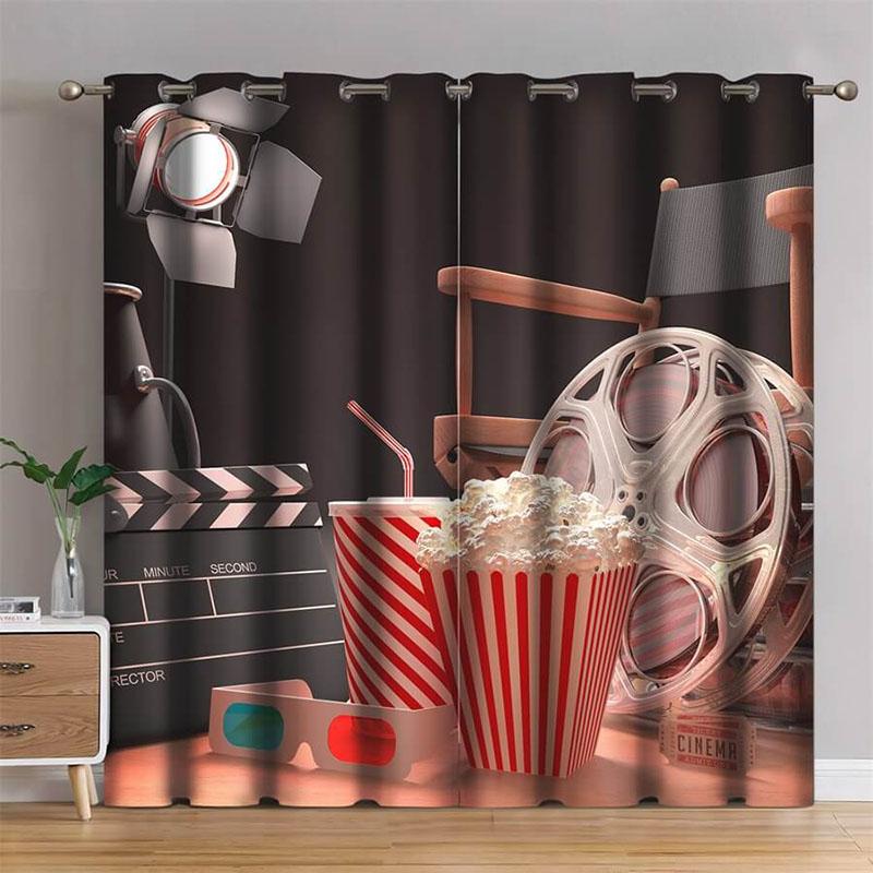 cinema blackout curtains