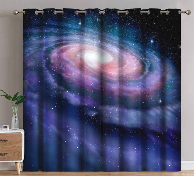 galaxy blackout curtains
