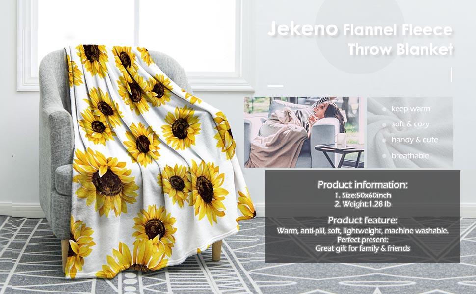 sunflower blanket detail